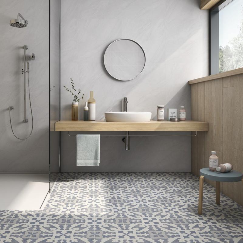 Tuscany Art Rodin Pattern Floor or Wall Tile 22cmx22cm