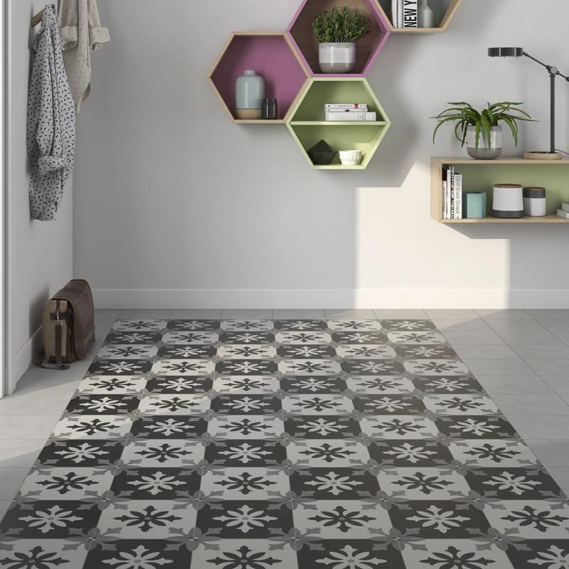 Tuscany Art Degas Pattern Floor or Wall Tile 22cmx22cm