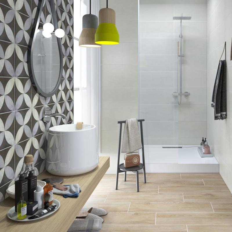 Tuscany Art Lepic Pattern Floor or Wall Tile 22cmx22cm
