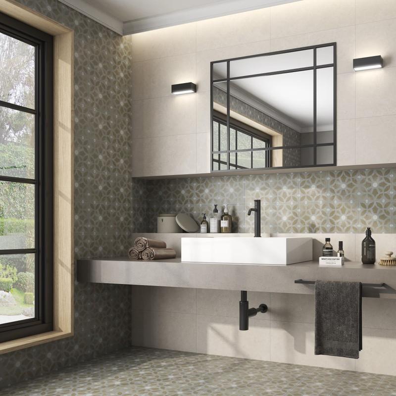 Tuscany Art Cezzane Pattern Floor or Wall Tile 22cmx22cm