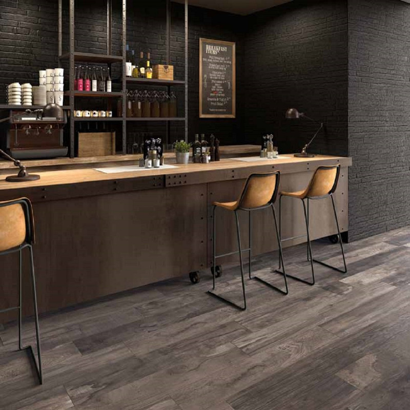 Dolphin  Coal rett. 20x120 - 20x170  Tile Wood