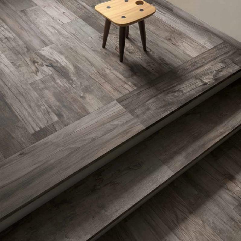 Dolphin Grey rett. 20x120 Tile Wood