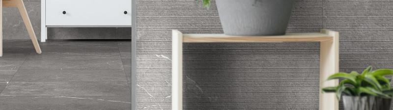 Aneto Rock Grey, Aneto Grey 600x600 Floor Tile