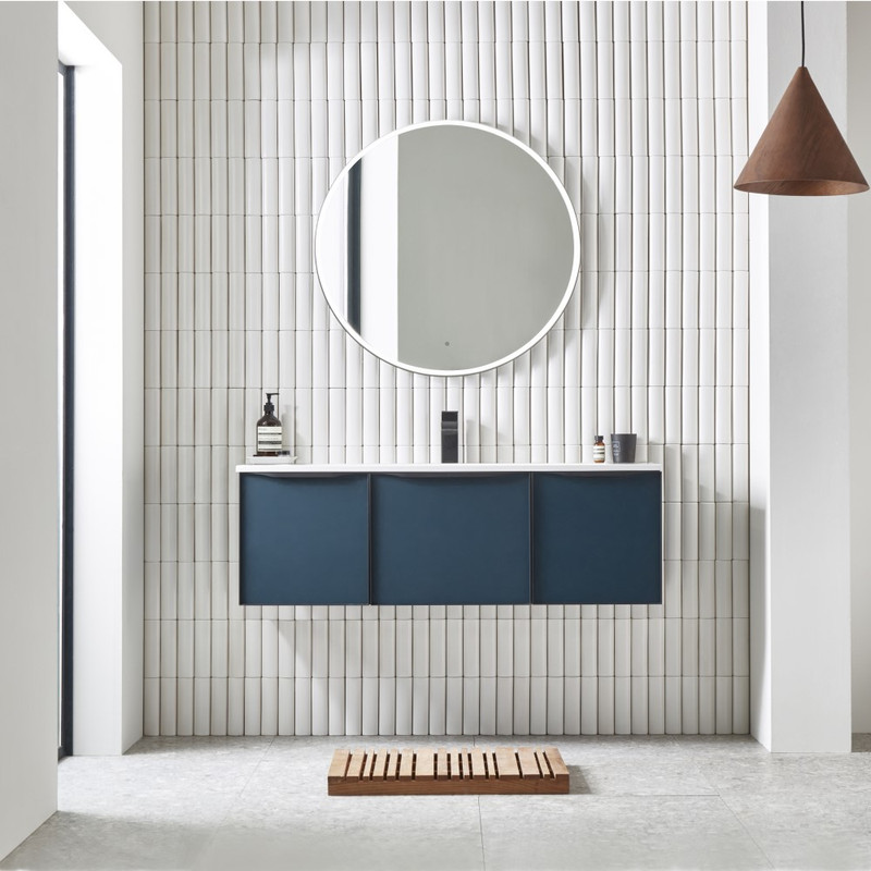 Frame Circular Mirror 800 Ø800mm x 38mm(d)  order instore or online today @ www.tuscanytiles.co.uk