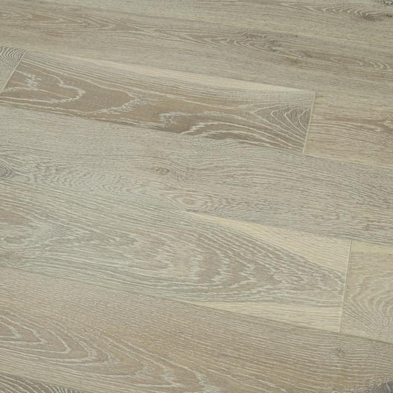 Tuscany Tudor Oak Smoked Brushed and White Oiled Engineered Wood Flooring