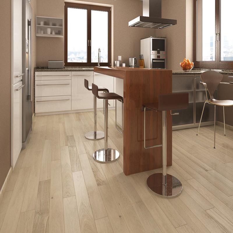 Tuscany Matt Lacquered Cream Engineered Wood Flooring (Per Pack 0.99M²)