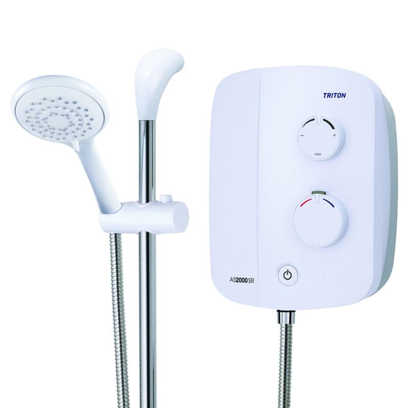 Triton Silent Running Thermostatic Power Shower