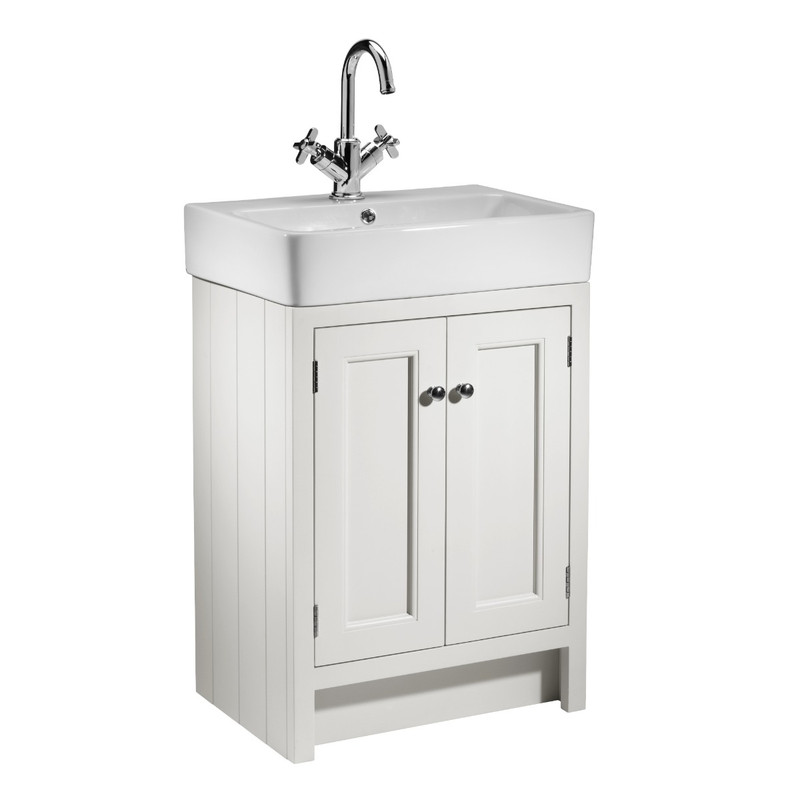 Hampton 575 Basin Unit - Chalk White