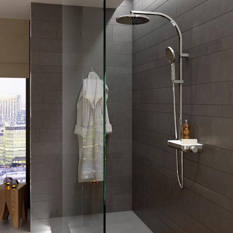 Strata Thermostatic Shower Column
