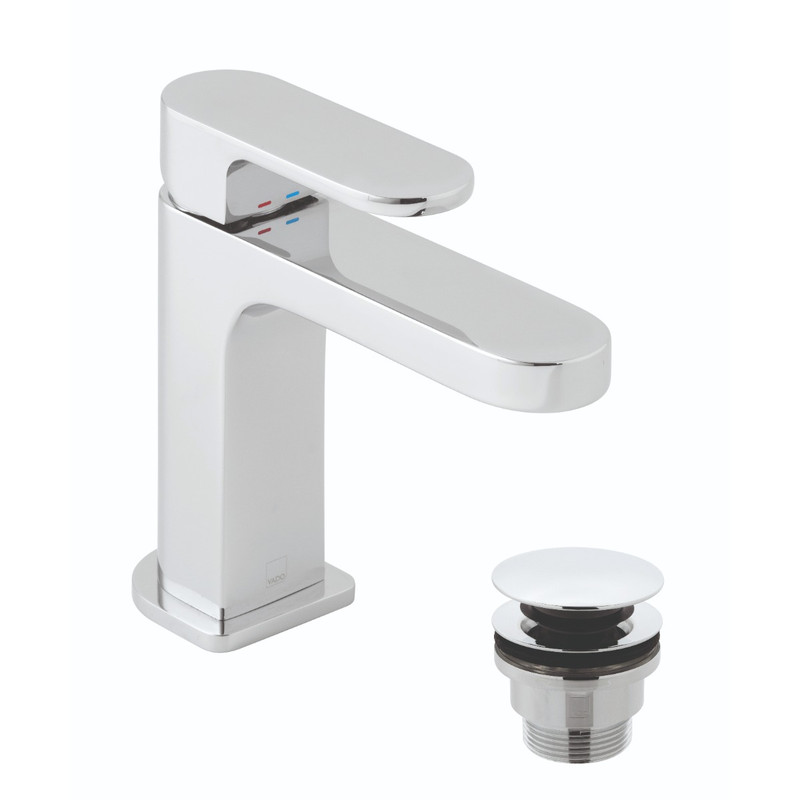Life Slimline Mono Basin Mixer with Universal Waste