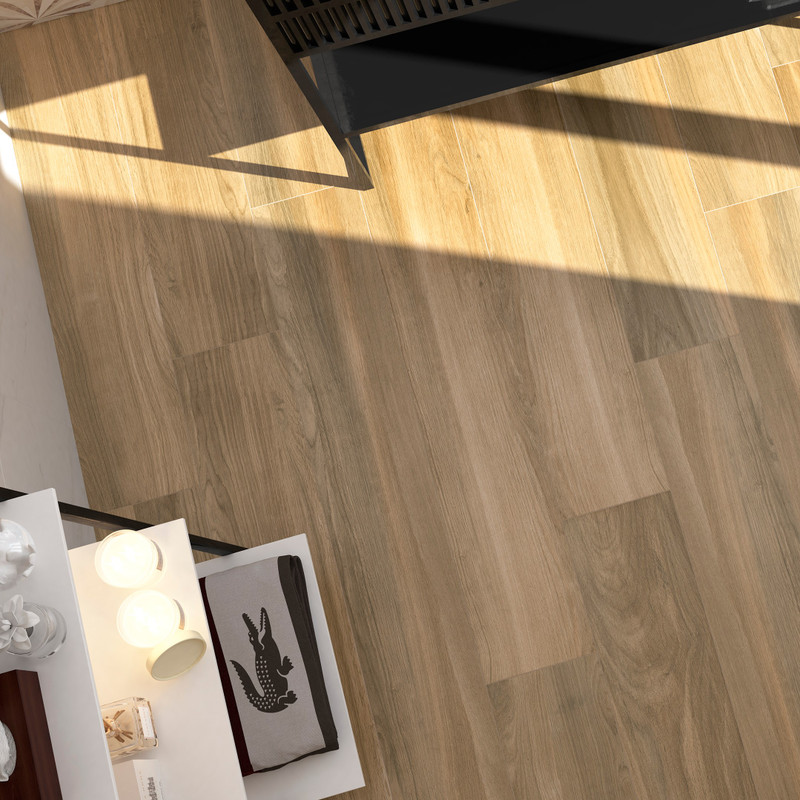 Tuscany Ra Roble 20x120 Size Wood tile in Living Space Floor