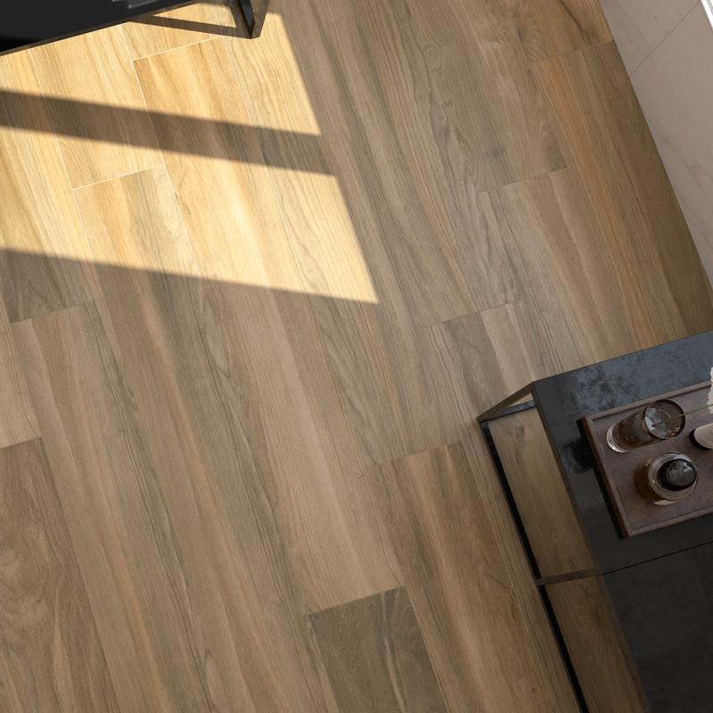 Tuscany Ra Perla 20x120 Size Wood Floor Tile Dining Room Floor
