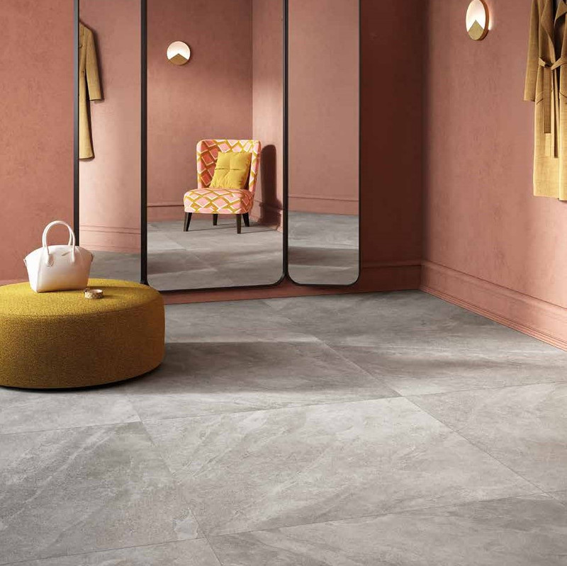 Tus Mono Greige 120x120 Bathroom Floor
