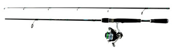 JIMMY HOUSTON ENFORCER 6' 2 PC MED-SPINNING COMBO