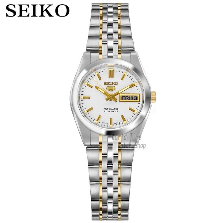 seiko women watches 5 automatic watch women top brand luxury 30M Waterproof ladies Gifts Clock watch reloj mujer|Women's Watches|