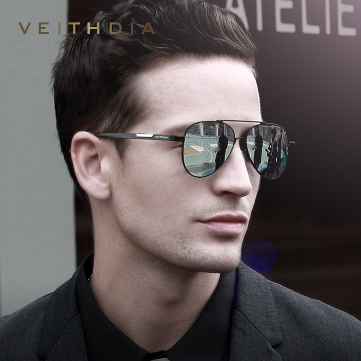 Men's Aluminum Magnesium Photochromic Sunglasses