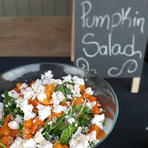 Quinoa, Persian Feta and Pumpkin	Salad