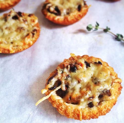 Caramelised Onion and Gorgonzola Tartlets