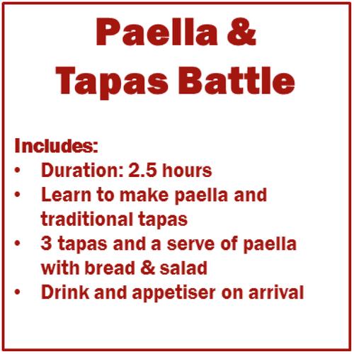 Team Building Cooking Workshop with Tapas Battle