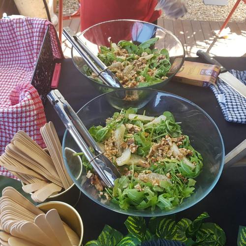 Pear, Walnuts & Rocket Salad