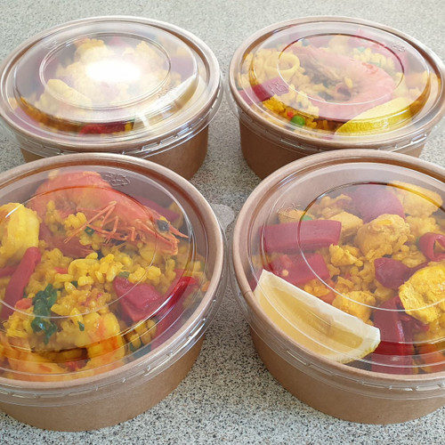Paella bowls delivered to your door
