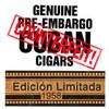 Genuine Pre-Embargo C.C. Edicion Limitada 1958 Maximo Cigars - 6.0 x 50 (Cedar Chest of 25)