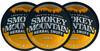 Smokey Mountain Peach Herbal Snuff 3 Cans