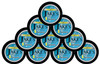 Jake's Mint Herbal Chew Pouches Lemonade 10 Cans