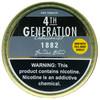 4th Generation Pipe Tobacco 1882 1.4 OZ Tin