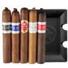Cigar Samplers PDR Cigar & Ashtray Set (Pack of 5)