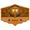 Esteban Carreras Bronze Cross Torpedo Cigars - 6.25 x 54 (Box of 20)
