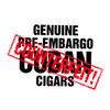 Genuine Pre-Embargo C.C. Sun Grown 1958 Belicoso Cigars - 6 x 54 (Pack of 5)