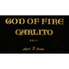 God of Fire by Carlito Piramide Cigars - 6.38 x 52 (Box of 10)