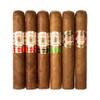 Cigar Samplers Gran Habano Robusto Collection Cigars - 5 x 52 (Pack of 6)