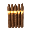 Crafted by Oliva Maduro Torpedo Cigars - 6.5 x 52 (Pack of 5)