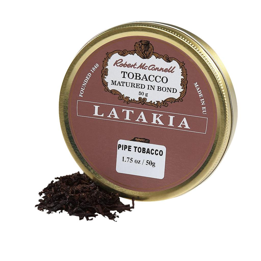 McConnell's Pure Latakia Pipe Tobacco | 1 75 OZ TIN