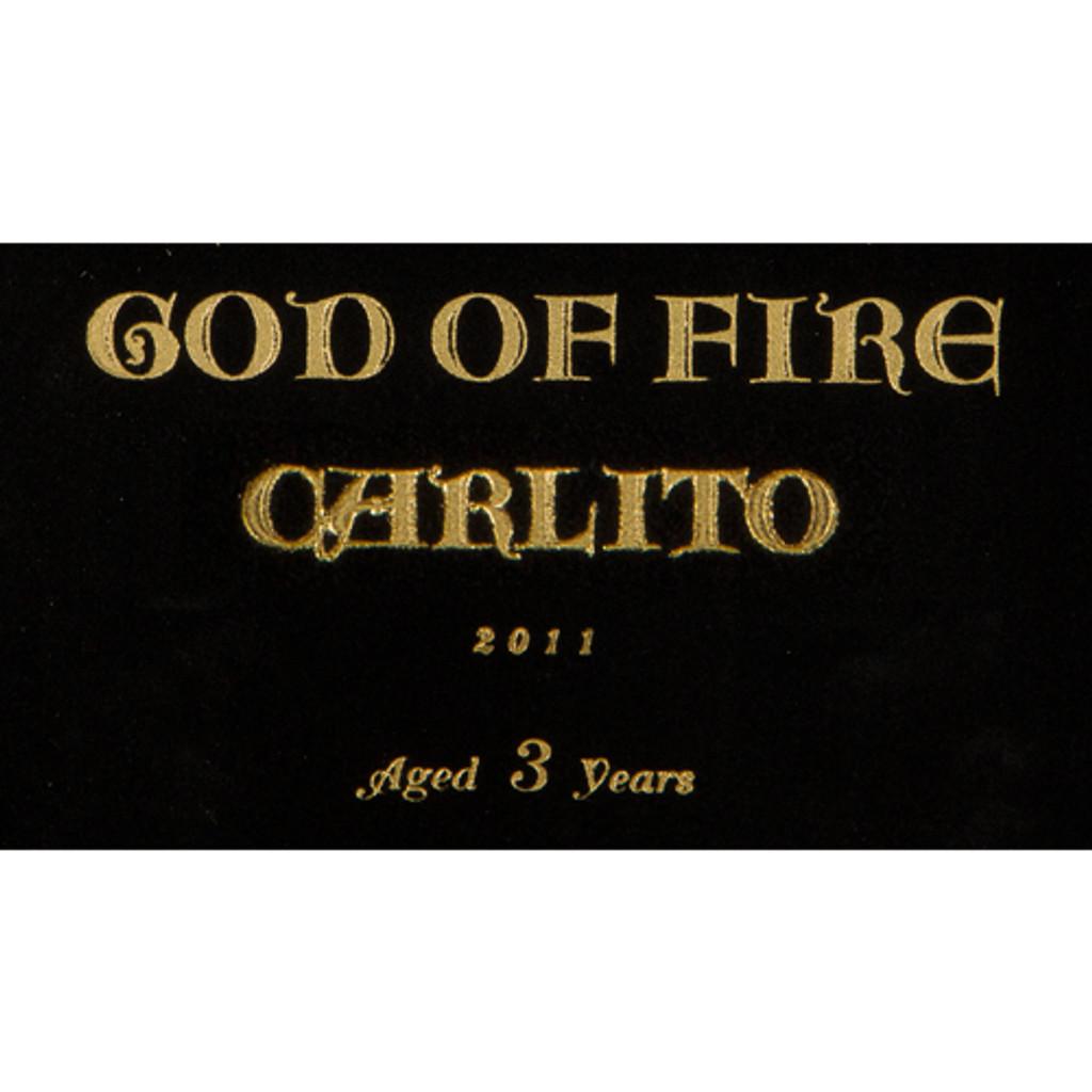 God of Fire by Carlito Double Corona Cigars - 7 62 x 49 (Box of 10)
