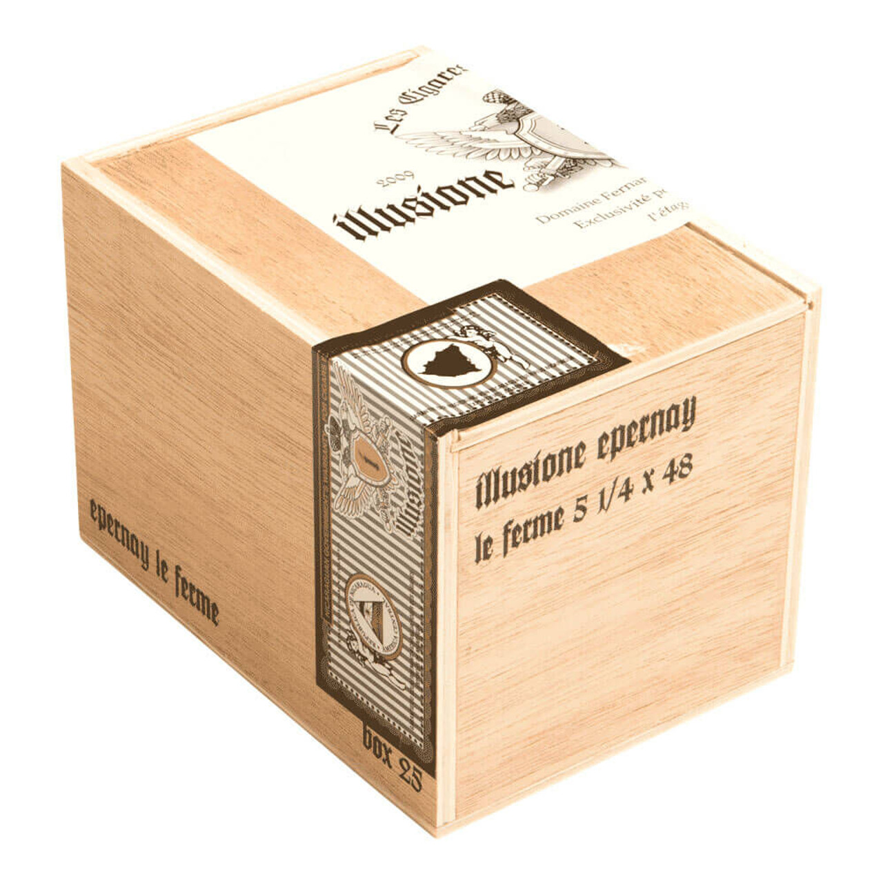 Illusione Epernay Le Ferme Cigars - 5.14 x 48 (Box of 25)