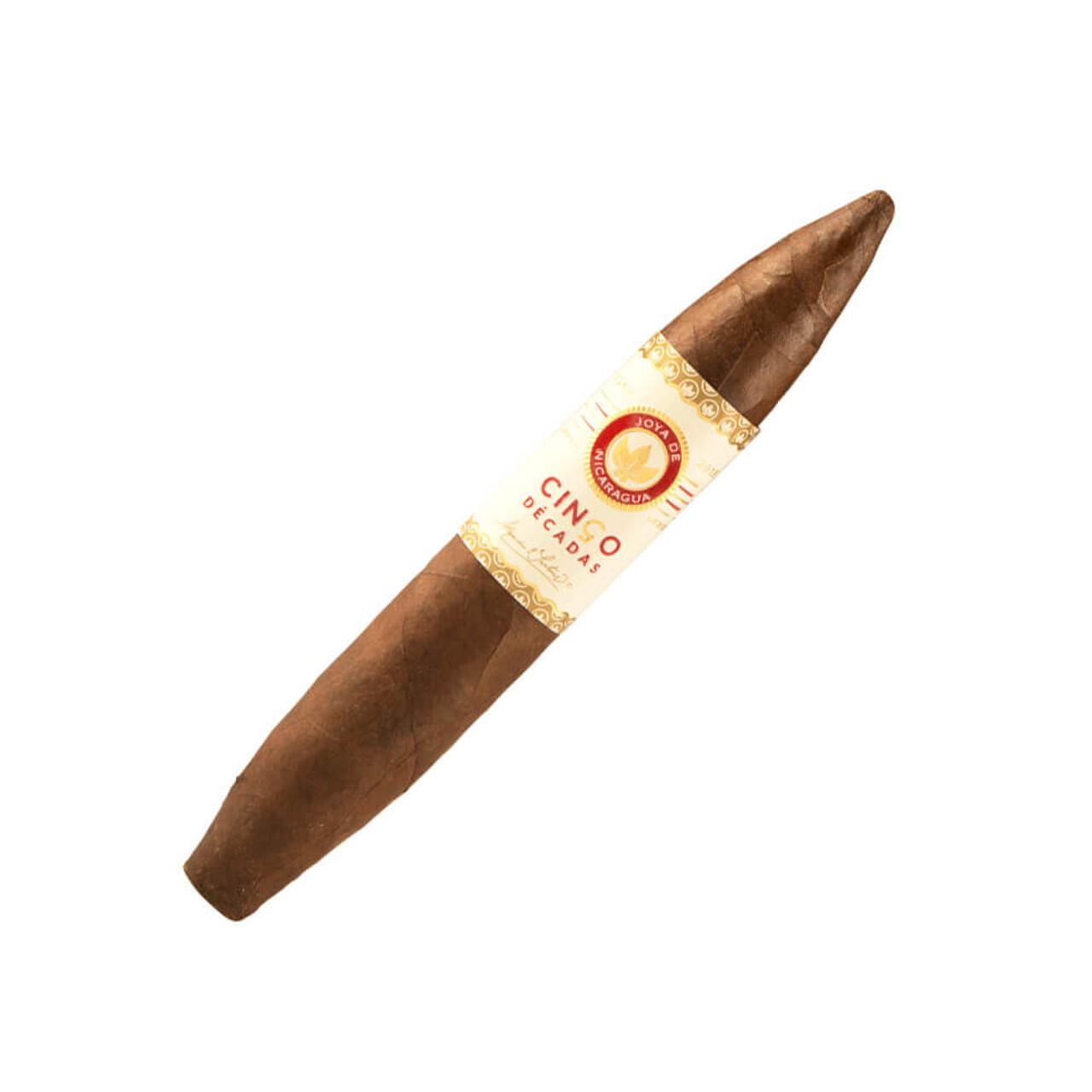 Joya de Nicaragua Cinco Decadas Diadema Cigars - 6 x 54 (Box of 10)