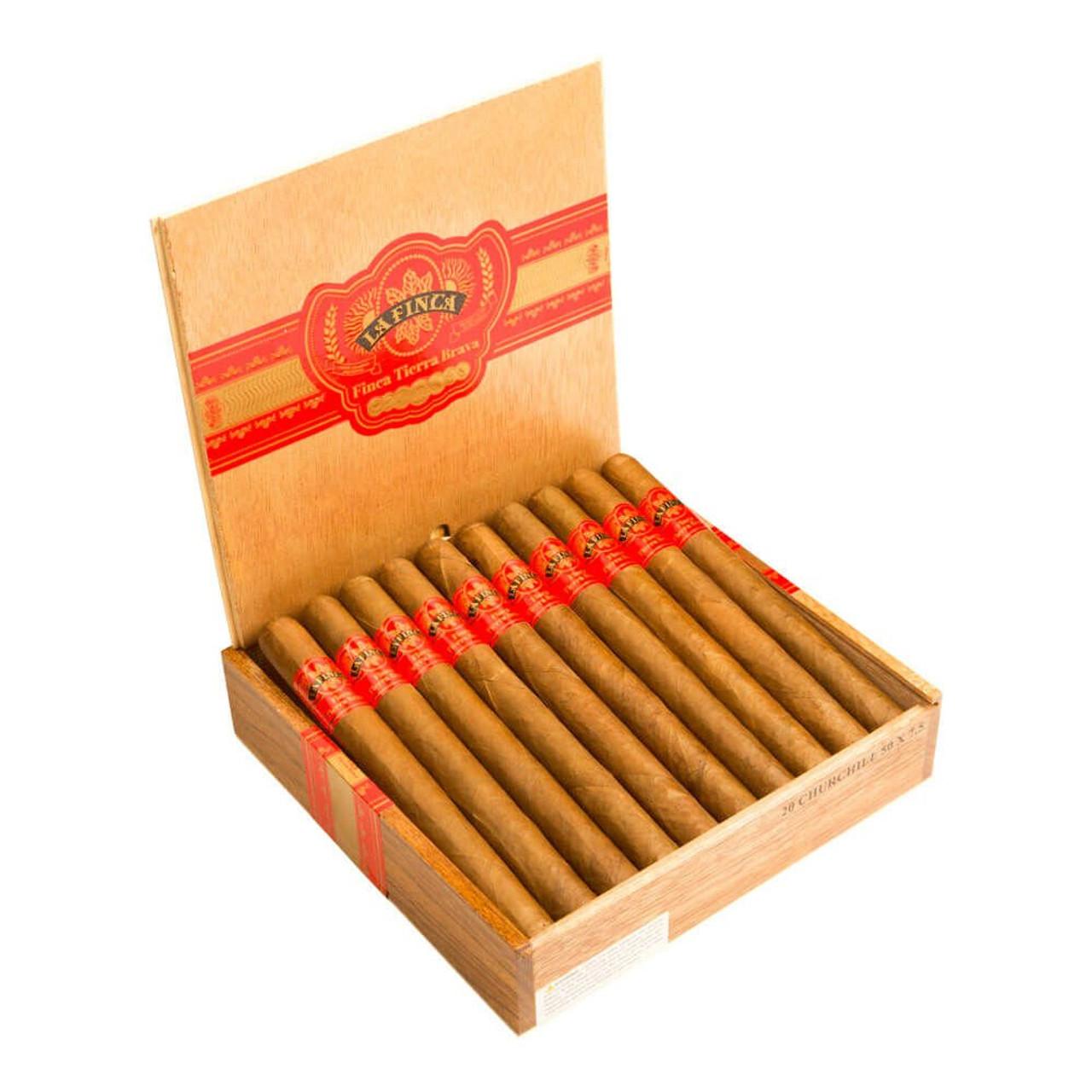 La Finca Tierra Brava Robusto Cigars - 5 x 50 (Box of 20)