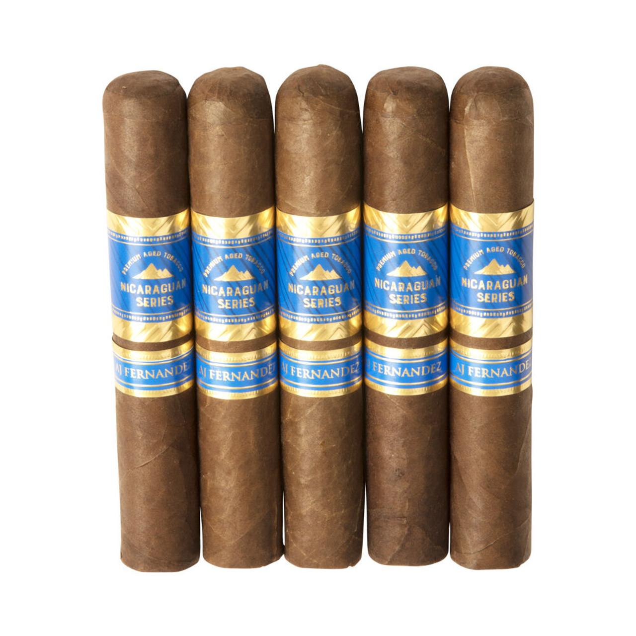 Nicaraguan Series by AJ Fernandez Robusto Cigars - 5 x 52 (Pack of 5)