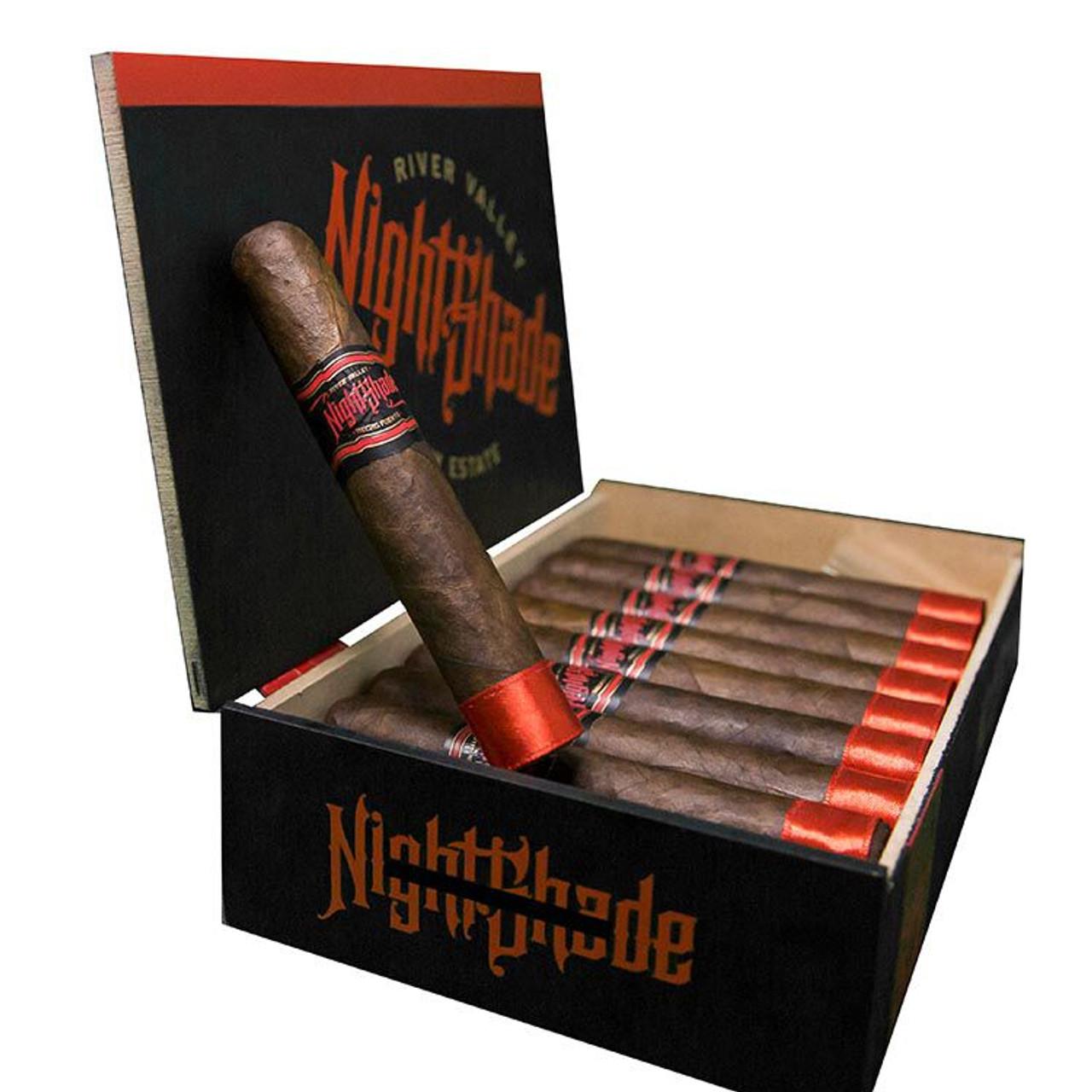 NightShade by Drew Estate Robusto Cigars - 5 x 52 (Box of 20)