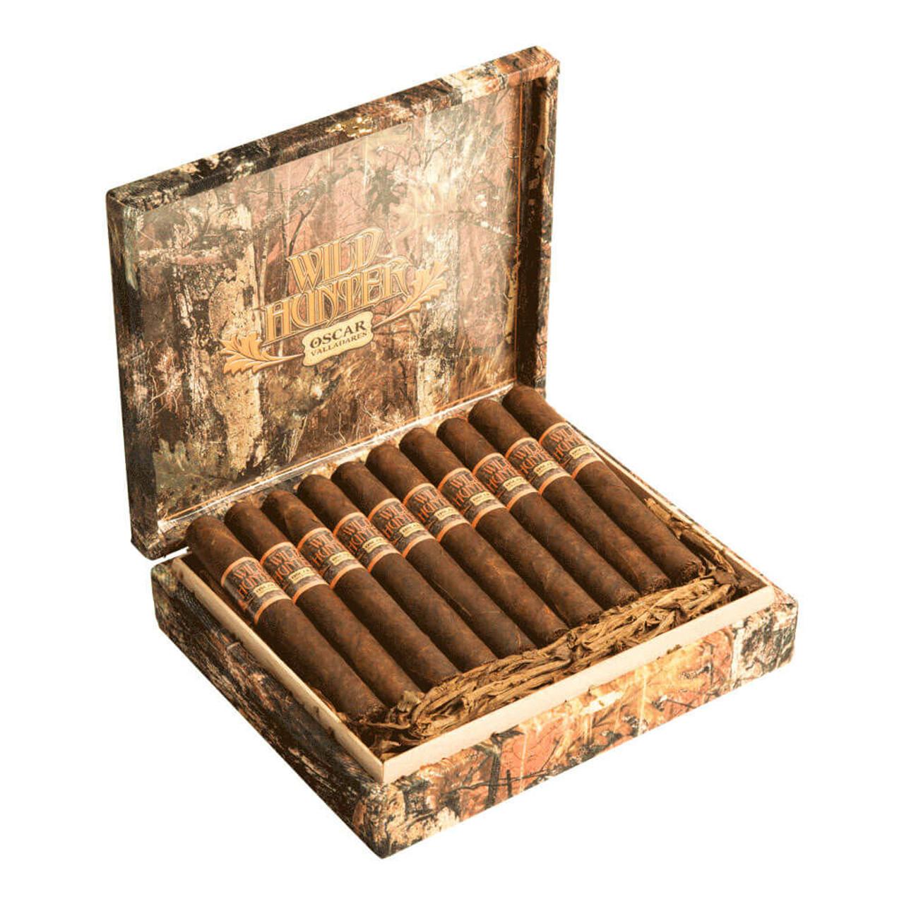 Oscar Valladares Wild Hunter Toro Maduro Cigars - 6 x 52 (Box of 20)