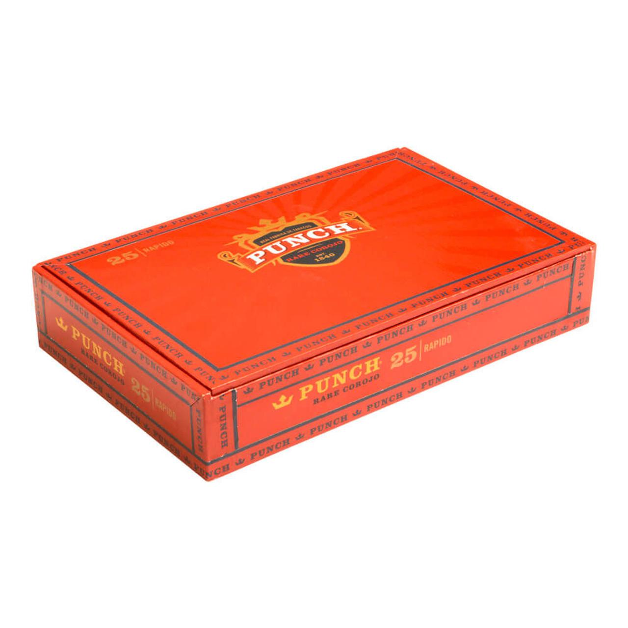 Punch Rare Corojo Rapido Cigars - 5 x 40 (Box of 25)
