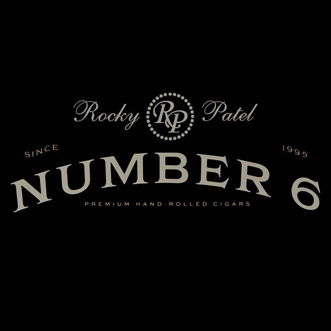 Rocky Patel Number 6 Corona Cigars - 6 x 44 (Box of 20)