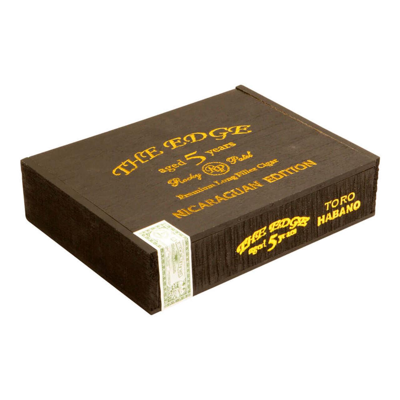 Rocky Patel The Edge Habano Toro Cigars - 6 x 52 (Box of 20)