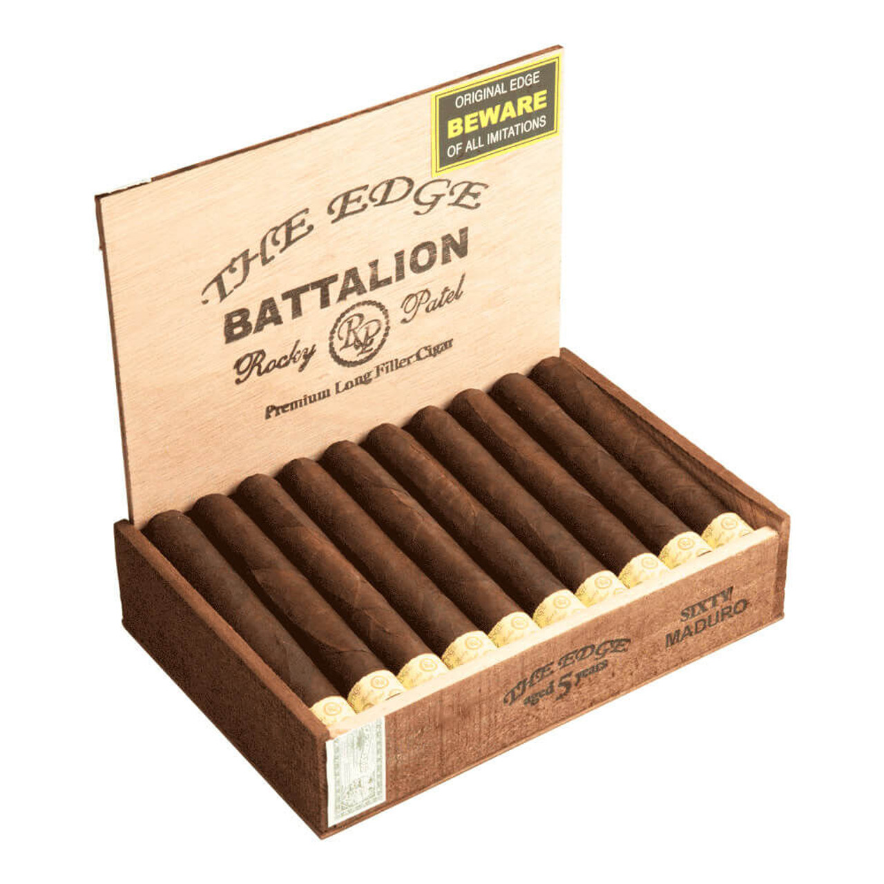 Rocky Patel The Edge Maduro Battalion Cigars - 6 x 60 (Box of 20)