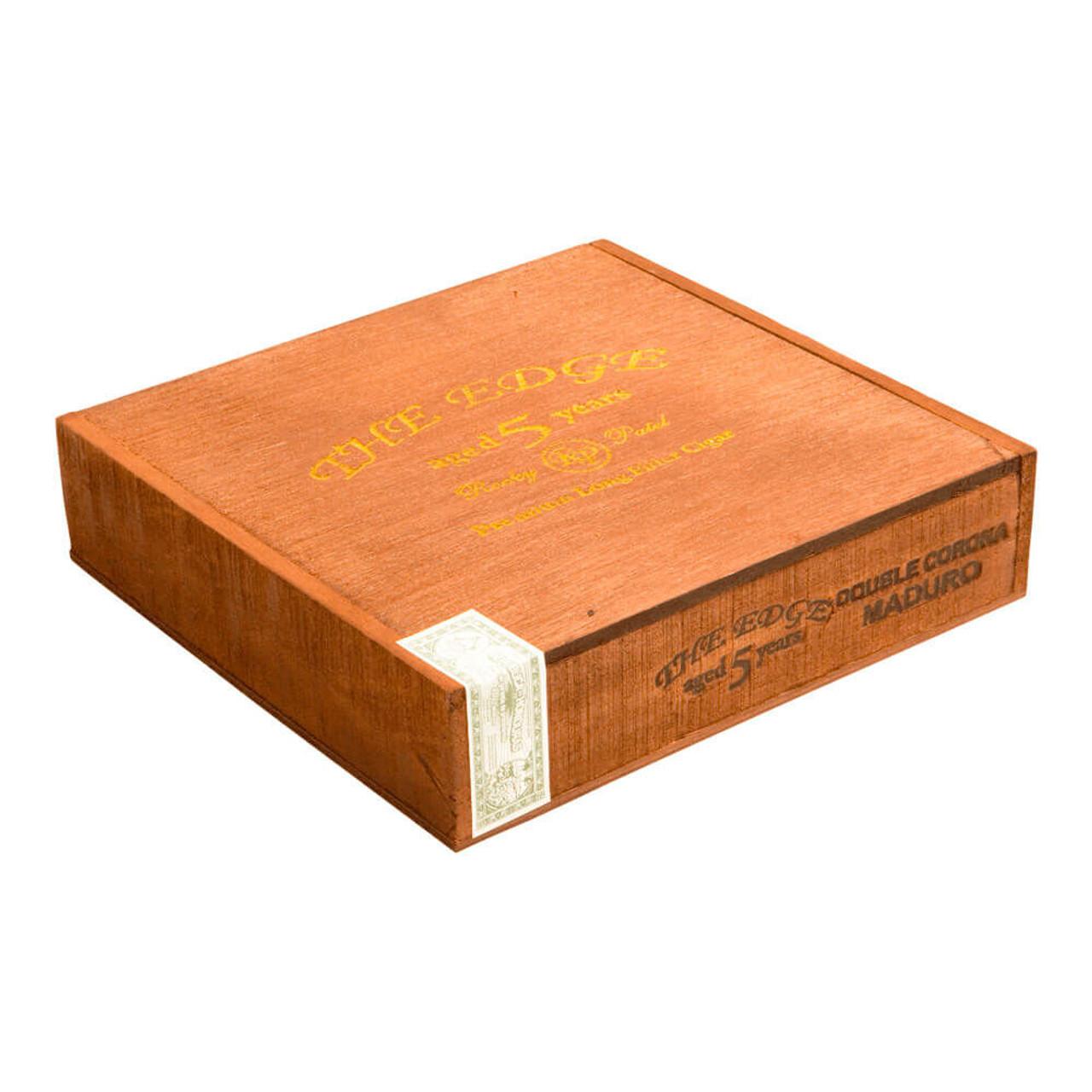 Rocky Patel The Edge Maduro Double Corona Cigars - 7.5 x 52 (Box of 20)