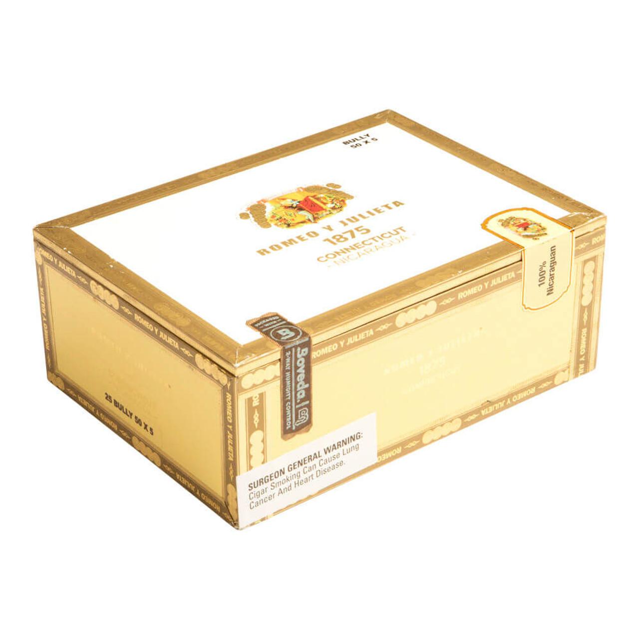 Romeo y Julieta 1875 Connecticut Nicaragua Bully Cigars - 5 x 50 (Box of 25)