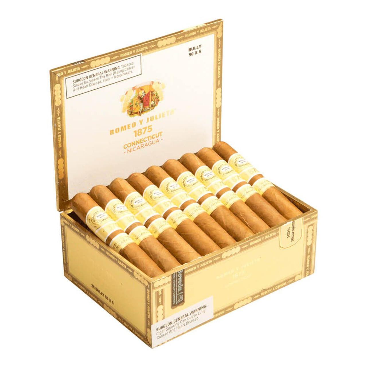 Romeo y Julieta 1875 Connecticut Nicaragua Toro Cigars - 6 x 52 (Box of 25)